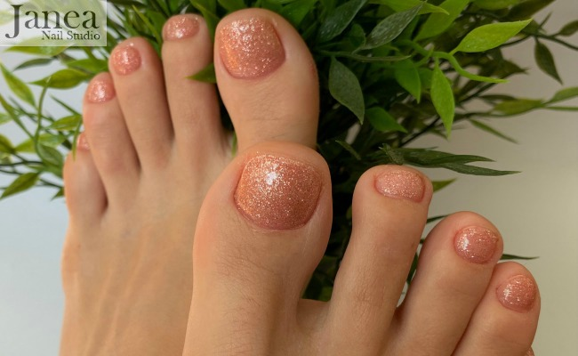 express gel pedi 1